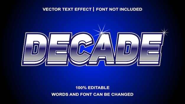 Kreatywny efekt dziesięciu tekstu