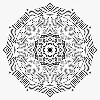 Kreatywny ozdobny luksus mandali