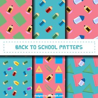 Kreatywny powrót do kolekcji wzorców szkolnych