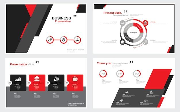 Kreatywny projekt rocznego raportu biznesowego szablon raportu i prezentacje broszura kreatywny projekt