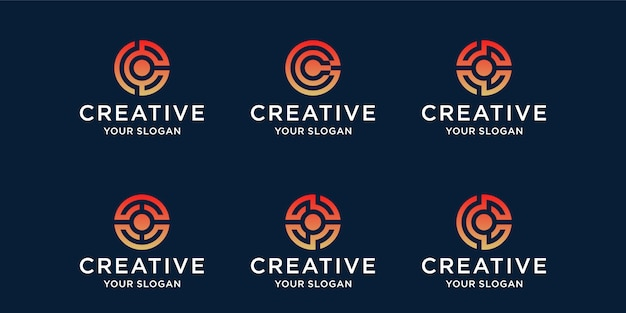 Kreatywny szablon logo