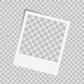 Kreatywny szablon ramki na zdjęcia, ramka na zdjęcia.