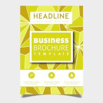 Kreatywny wektor broszura szablon projektu