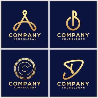 Kreatywny zestaw ikon logo
