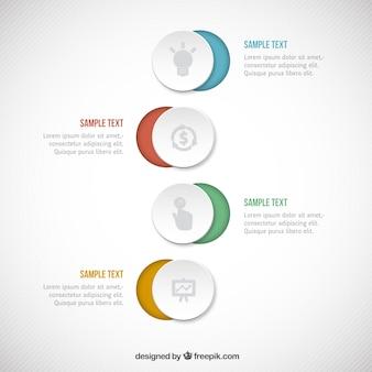 Kręgi infographic