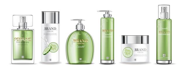 Kremy ogórkowe i kolekcja perfum