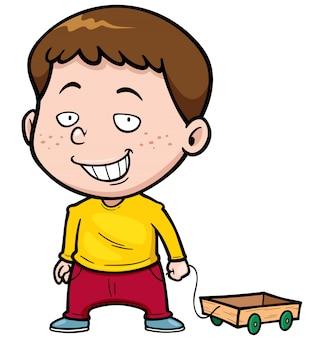 Kreskówka chłopiec