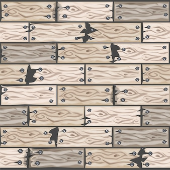 Kreskówka drewno bielone płytki podłogowe wzór. deska parkietowa drewniana tekstura. ilustracja interfejsu użytkownika elementu gry. kolor 10