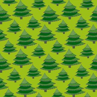 Kreskówka drzewa wzór