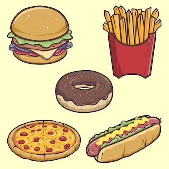Kreskówka fast foodów
