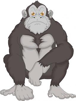Kreskówka goryl
