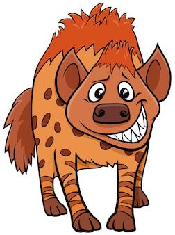 Kreskówka hiena dzikich zwierząt