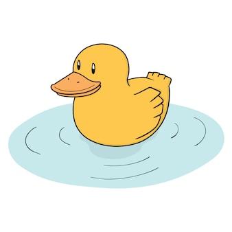 Kreskówka kaczka