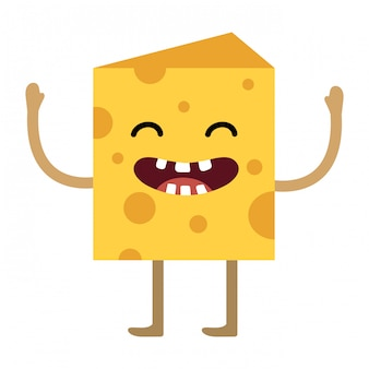 Kreskówka kawałek sera