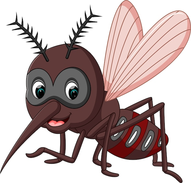 Kreskówka komara
