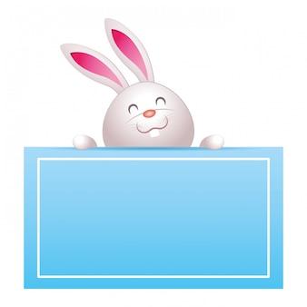 Kreskówka królik
