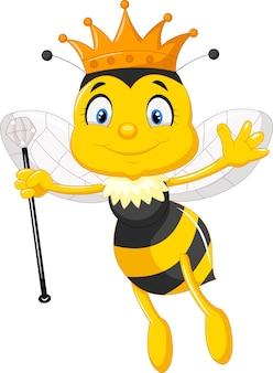 Kreskówka królowa pszczół