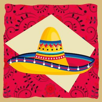 Kreskówka kultury meksykańskiej