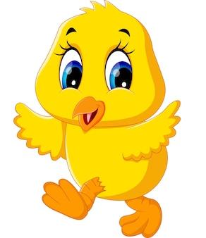 Kreskówka kurczak ładny
