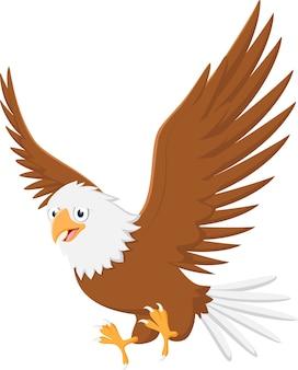 Kreskówka latający orzeł