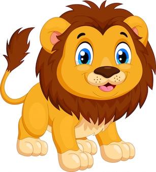 Kreskówka lwa