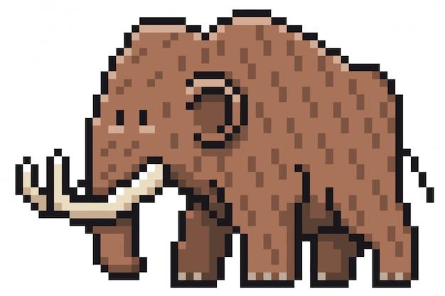 Kreskówka mamuta