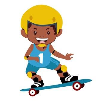Kreskówka maskotka dla dzieci w wektorze