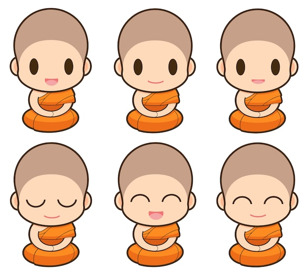 Kreskówka mnich