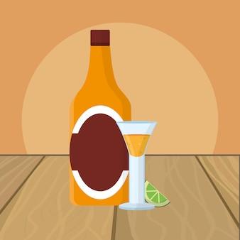 Kreskówka napój alkoholowy