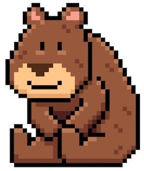 Kreskówka niedźwiedź brunatny