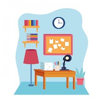 Kreskówka nowoczesny styl dekoracji mebli