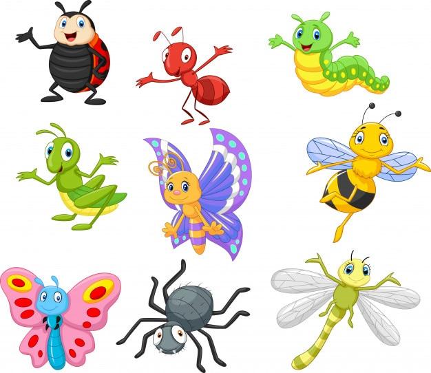 Kreskówka owadów