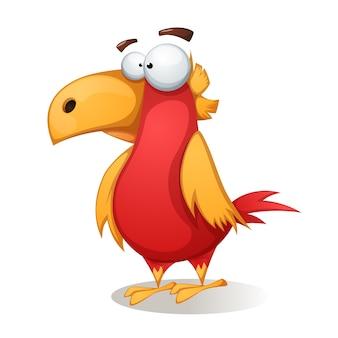 Kreskówka ptak