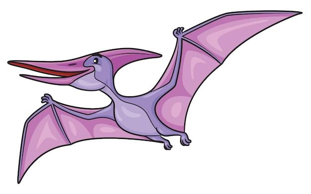 Kreskówka pterodaktyla