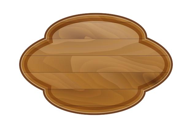 Kreskówka rama drewniana deska