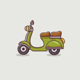 Kreskówka skuter