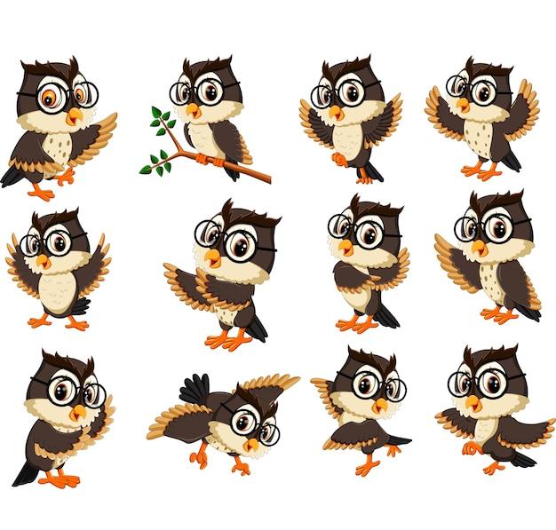 Kreskówka sowa