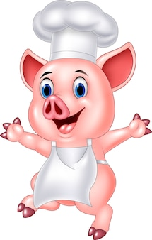 Kreskówka szef świni