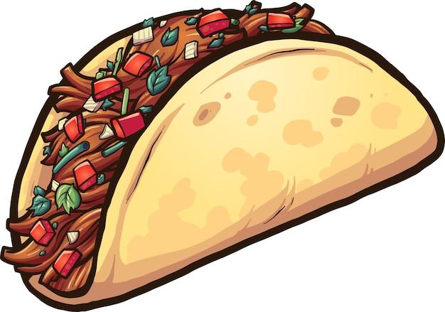 Kreskówka taco