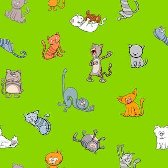 Kreskówka tapety z kotami