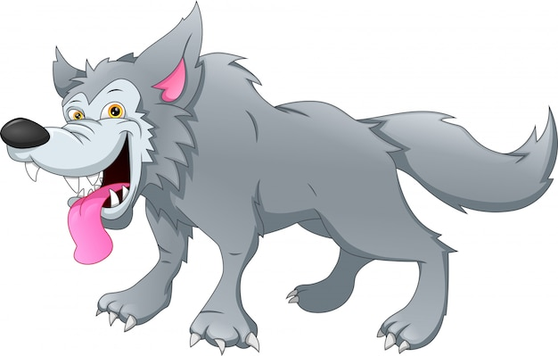 Kreskówka wilk