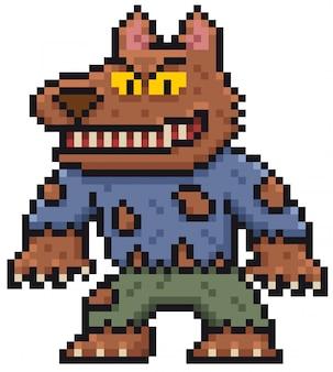 Kreskówka wilkołak