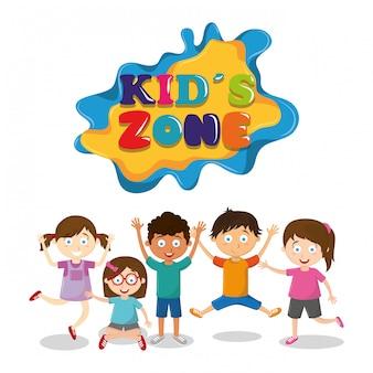 Kreskówki dla dzieci strefy dla dzieci