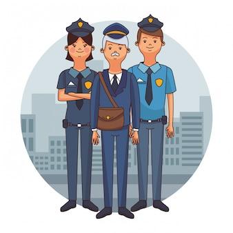 Kreskówki policji
