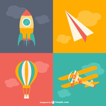 Kreskówki transportu lotniczego