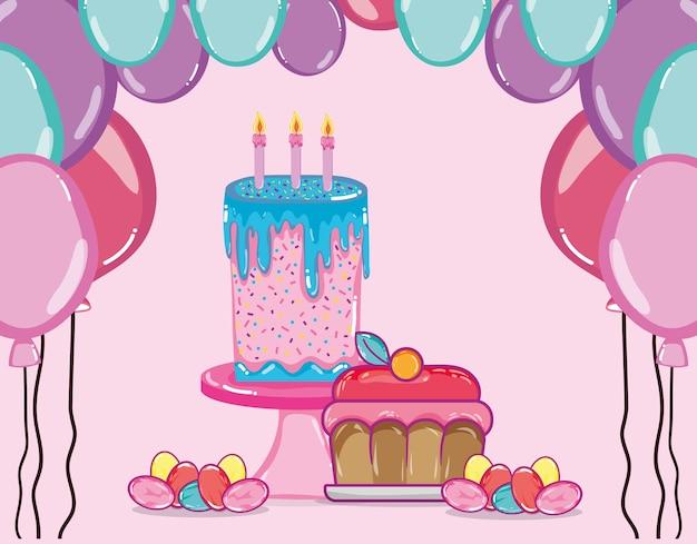 Kreskówki z okazji urodzin