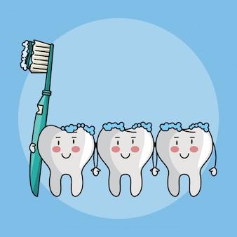 Kreskówki z opieki stomatologicznej