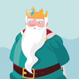 Król bajkowy magiczny awatar