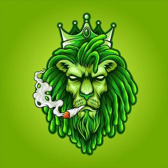 Król lew chwastów