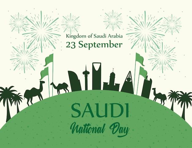 Królestwo arabii saudyjskiej niepodległość